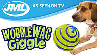 Игрушка для собак мяч хихикующий Wobble Wag Giggle