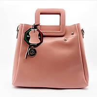 Стильная женская сумка GАLАNTY из натуральной кожи черного цвета TRT-432072, фото 1