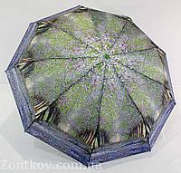 """Зонтик женский полуавтомат """"пейзаж"""" полиэстр от фирмы """"Calm Rain"""""""