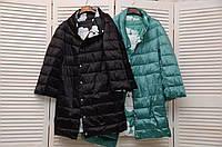 Двухсторонняя демисезонная куртка-пальто Италия