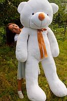 """Плюшевый мишка """"Рафаэль"""", белый, 200 см."""