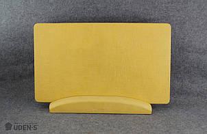 Керамогранитный дизайн-обогреватель UDEN-S Холст медовый (ножка-планка) 500 Вт