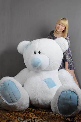 """Плюшевый мишка """"Тедди"""", белый, 250 см."""