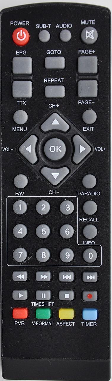 Пульт от тюнера эфирного цифрового телевидения Т2 TIGER AIR