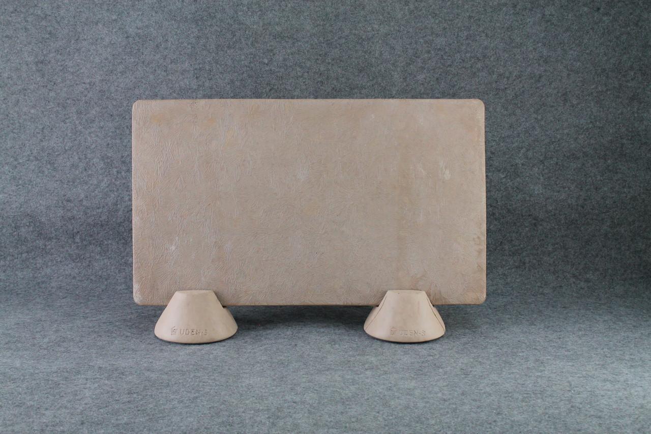 Керамогранитный дизайн-обогреватель UDEN-S Изморозь терракотовий (ножки-конусы) 450 Вт