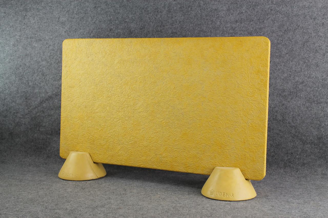 Обогреватель керамогранитный Uden-S Филигри медовый (ножки-конусы) 450 Вт