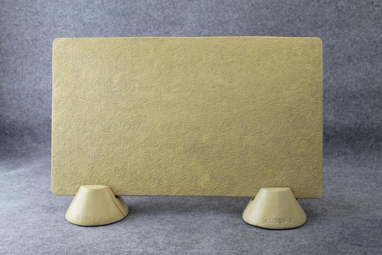Керамогранитный обогреватель UDEN-S Филигри медовый (ножки-конусы) 450 Вт