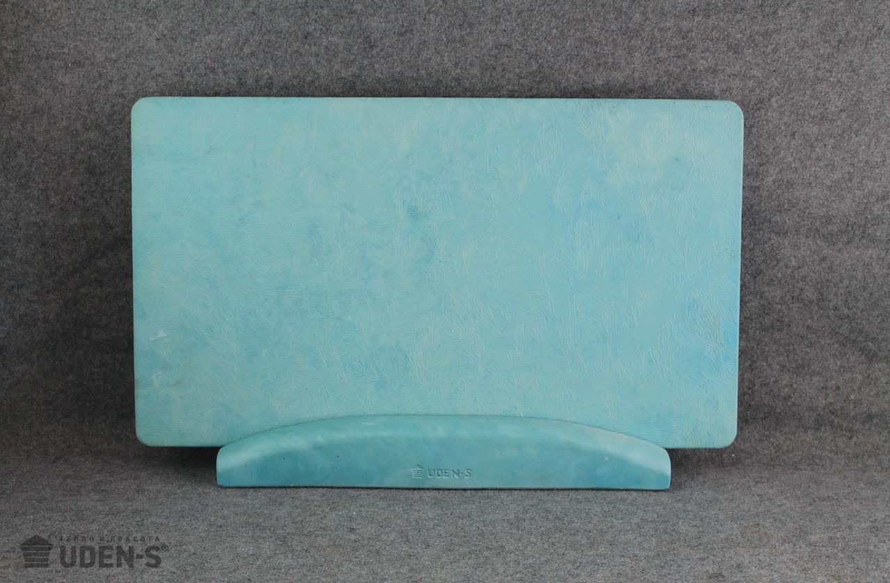 Обігрівач керамогранитный Uden-S Паморозь бірюзовий (ніжка-планка) 450 Вт