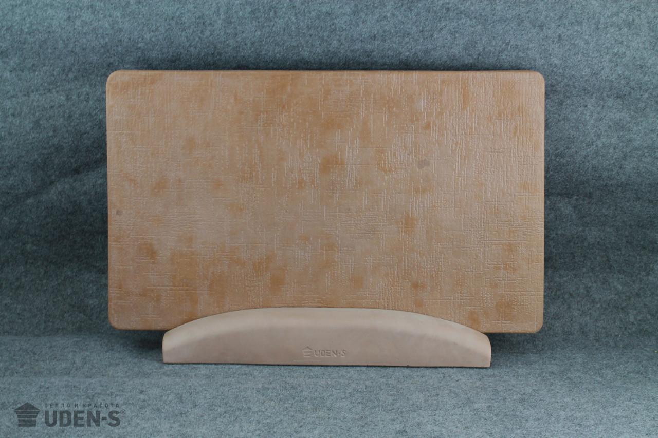 Обігрівач керамогранитный Uden-S Полотно теракотовий (ніжка-планка) 450 Вт