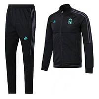 Спортивный костюм Реал Мадрид, сезон 17-18 (черный)