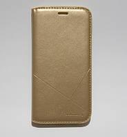 Чехол-книжка для смартфона Samsung J5 2017 J530 золотая
