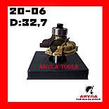 20-06 D32.7 d8 Фреза Акула Pobedit кромочная фігурна з нижнім підшипником, фото 3