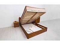 Ліжко Софія V з ПМ 200*160 бук Олімп, фото 1