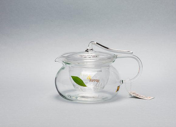 """Стеклянный заварник для чая """"CHI KAO"""" 450мл."""