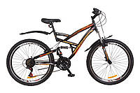 Велосипед горный с амортизаторами спортивный Дискавери Canyon 26