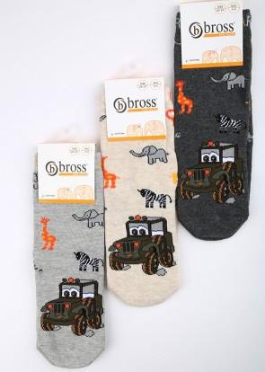 Р. 22-24 ( 1-3 года )   носочки детские Bross демисезонные Сафари