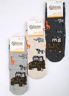 Р. 28-30 ( 5-7 лет )  носочки детские Bross демисезонные Сафари