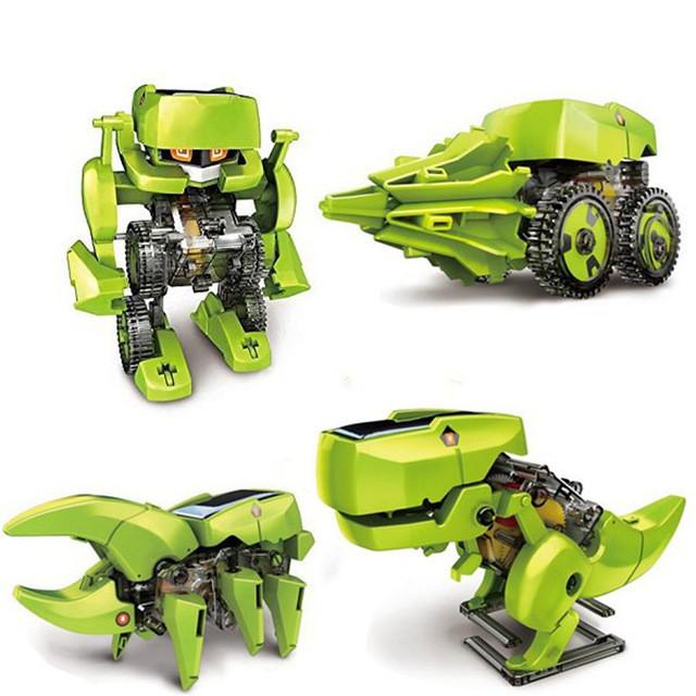 Уценка! Развивающий конструктор робот Solar Robot 4 в 1 на солнечной батарее