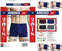 Боксеры мужские L-3XL Бамбук «Amigo» Распродажа