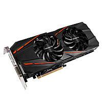 Видеокарта GeForce GTX1060, Gigabyte, 3Gb DDR5, 192-bit, DVI/HDMI/3xDP, 1746/8008 MHz, 8-pin, RGB Spectrum (GV-N1060D5-3GD) 6 месяцев гарантии