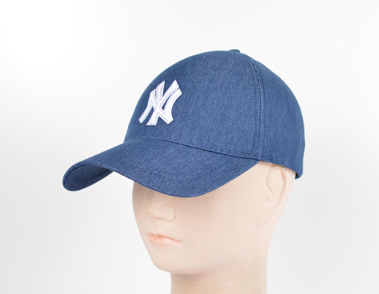 """Бейсболка """"Джинс 5кл"""" NY col-4"""