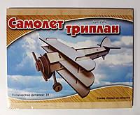 Конструктор Деревянный Самолет триплан Р074 Sea Land Китай