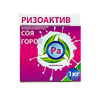 Торфяний сухий Інокулянт для сої та гороху Ризоактив Т - бактерії для бобових
