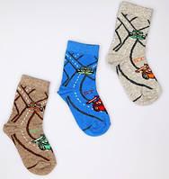 Р. 31-33 ( 7-9 лет )  носочки детские Bross демисезонные Формула 1