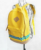 Рюкзак городской Sport Backpak желтый