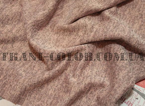 Трикотаж ангора софт персиковый меланж, фото 2