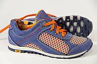 Летняя детская спортивная обувь из натуральной кожи ДФ 01 J
