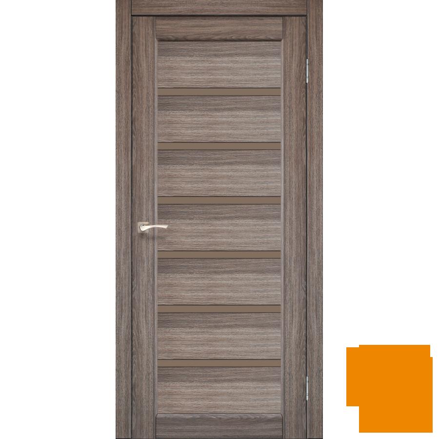 "Міжкімнатні двері колекції ""Porto deluxe"" PD-01 (дуб грей)"