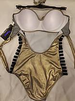 Купальник 58110 Блеск золотистый на  52 размер., фото 2