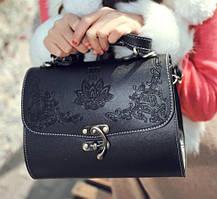 Женская сумка Саквояж через плечо с ручкой Ретро Аnna Sui