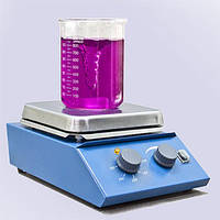 Магнітна мішалка з нагрівом РІВА-2, магнитная мешалка с нагревом РИВА-2