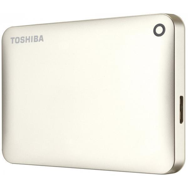 Внешний жесткий диск 500 Gb Toshiba Canvio Connect II, Gold, USB 3.0 (