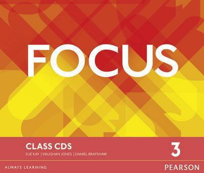 Focus 3 Class Audio CDs, фото 2