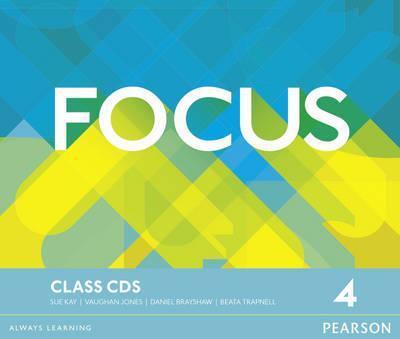 Focus 4 Class Audio CDs