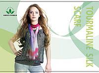 Турмалиновый платок и шарф снимает стресс, утомляемость,улучшит сон.
