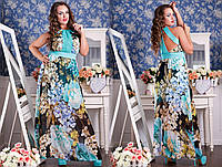 Роскошное платье из шифона