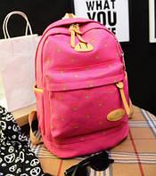 Рюкзак женский школьный Kaila Cherry розовый