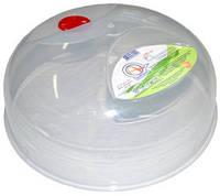 Крышка для СВЧ d25 см пластик Алеана