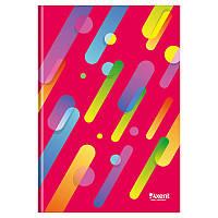 Книга канцелярская А4 Axent 8422-306-A Colour Rain, 96л., клетка., красная