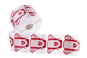 Формы для наращивания ногтей Salon Professional (белые с красным) 500 шт.