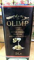 "Оливковое масло-5 литров-""Олимп"",ж/б."