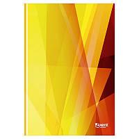 Книга канцелярская А4 Axent 8422-212-A Polygon, 96л., клетка., оранжевая