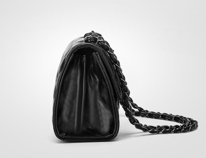 937fd04bf10b Сумка женская через плечо металлическая цепочка черная: продажа ...