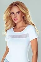 Женская футболка белого цвета. Модель Babette Eldar