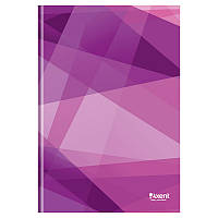 Книга канцелярская А4 Axent 8422-211-A Polygon, 96л., клетка., фиолетовая