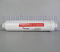 Угольный постфильтр для воды НОВАЯ ВОДА CL-10GAC (с резьбой под фитинги), фото 1